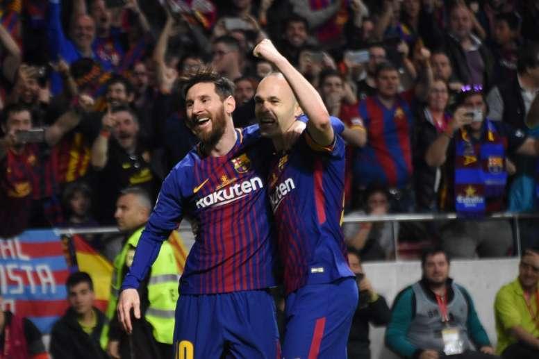 Messi encense ses coéquipiers. BeSoccer