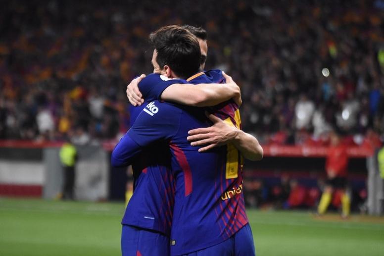 Le groupe du FC Barcelone pour affronter le Celta Vigo en Liga