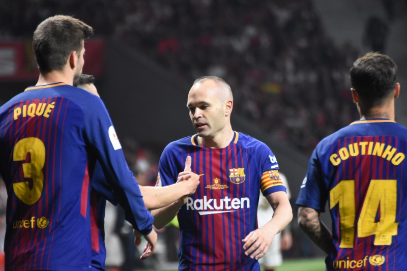 Sus números en el Barcelona-Real Madrid — Andrés Iniesta