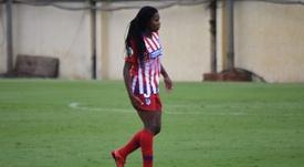Ludmila, el gol del Atlético. BeSoccer