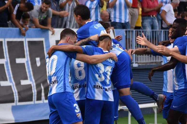 Los goles de Adrián, Hicham y Ricca le dieron la victoria al equipo costasoleño. BeSoccer