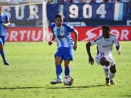El Málaga defiende su escaño en la categoría. BeSoccer