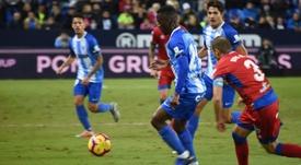 Koné renovará automáticamente en caso de que el Málaga ascienda. BeSoccer