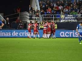 Un Málaga-Granada con los octavos de Copa en juego. BeSoccer