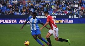 Málaga y Getafe ultiman detalles para la cesión de N'Diaye. BeSoccer