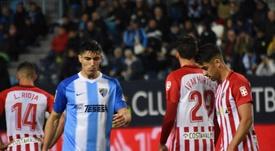 El Almería empató en La Rosaleda. BeSoccer