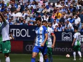El Málaga, a contracorriente y derrotado ante el Extremadura. BeSoccer