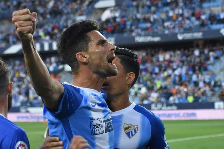 Adrián marcó el primer gol del encuentro. BeSoccer