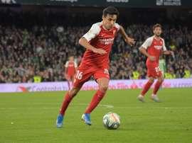 Jesús Navas fala sobre o jogo contra o Manchester United. BeSoccer