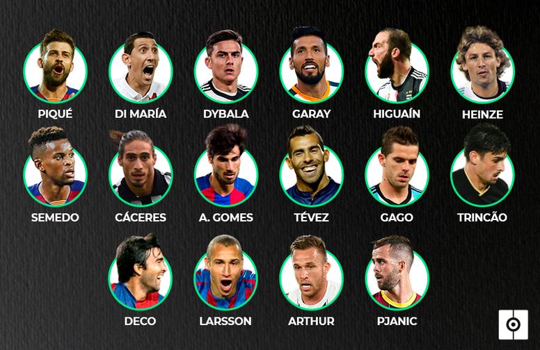 15 jogadores tiveram a sorte de atuar ao lado de Cristiano Ronaldo e Leo Messi. BeSoccer