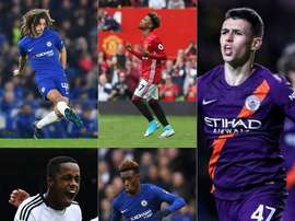 There is a plethora of young talent emerging from within the Premier League. AFP