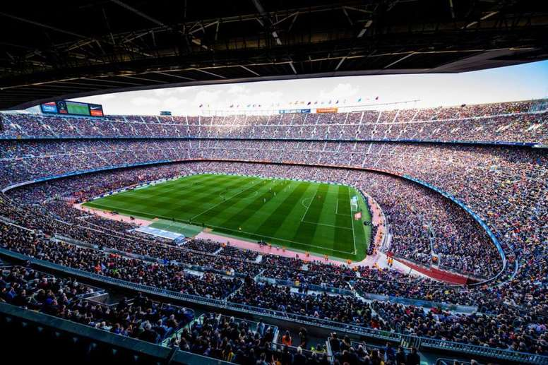 the camp nou could have a sponsor added to its name besoccer the camp nou could have a sponsor added