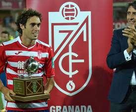 Baena no formará parte de la plantilla del Granada esta temporada. BeSoccer