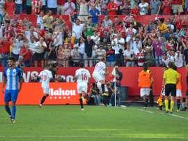 Sevilla vence Málaga em casa. BeSoccer