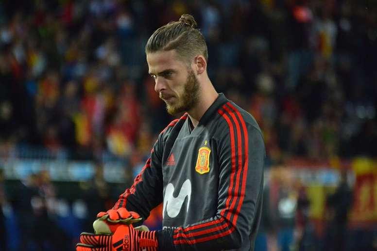 De Gea se mostró orgulloso por estar en la Selección Española. BeSoccer