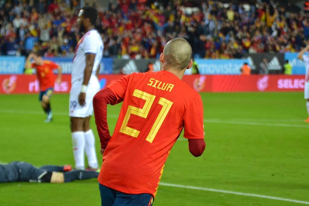 David Silva abandona la concentración de España por