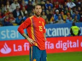 Sergio Ramos foi vaiado na Inglaterra. BeSoccer