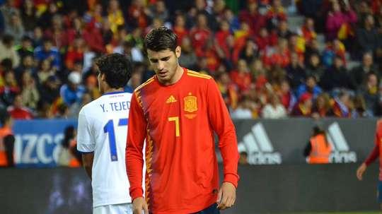 Morata admitió que no estar en el Mundial le dolió. BeSoccer