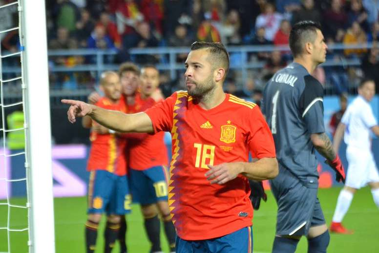 Jordi Alba est de retour. BeSoccer