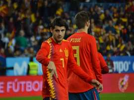 Morata has gone a year without a goal. BeSoccer
