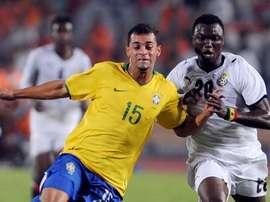 El delantero africano tiene ahora 28 años. AFP