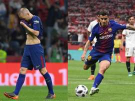 Iniesta and Coutinho both starred in the cup final. AFP/BeSoccer