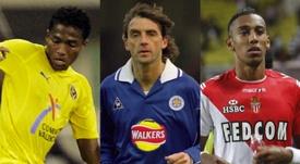 Valencia, en el Villarreal; Mancini, en el Leicester; y Aubameyang, en el Mónaco. BeSoccer