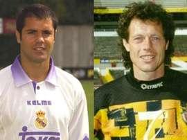 A la izquierda, Carlos Secretário; a la derecha, Michel Preud'homme.