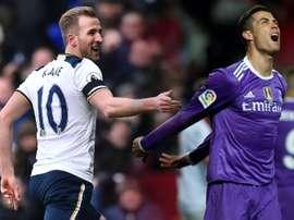 Cristiano et Kane continuent d'augmenter leurs scores. BeSoccer/AFP/EFE
