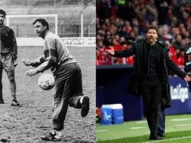 Simeone dépasse Cruyff. EFE