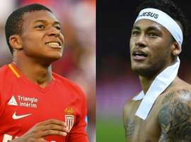 Mbappe and Neymar are set to link up in the French capital. EFE/AFP/BeSoccer