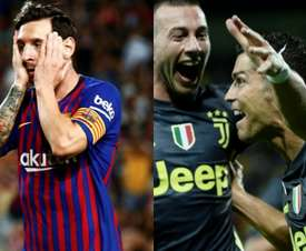 Messi et Ronaldo ont marqué en même temps dans deux championnats différents. EFE