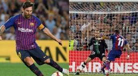 Messi et Morales détiennent un curieux record. EFE