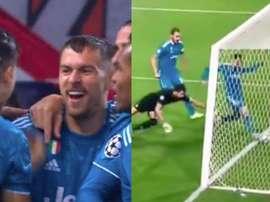 Ramsey s'est excusé auprès de Cristiano. CapturesMovistarLigadeCampeones