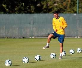 Aarón Martín entre également dans le rader de l'Atlético. Twitter/RCDEspanyol