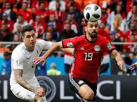 Abdallah Said ha batido un registro en el Mundial de Rusia. EFE