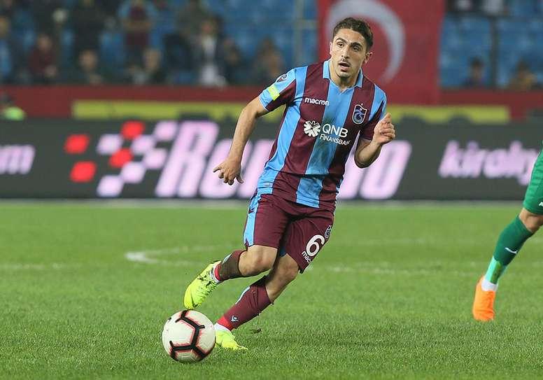 Los dos jugadores del Trabzonspor, en la agenda del Sevilla. Trabzonspor