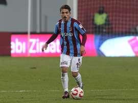 Ömur pourrait jouer en Angleterre. Trabzonspor