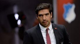 O Sporting pensa em Abel Ferreira como substituto de Silas. Twitter/SCBraga