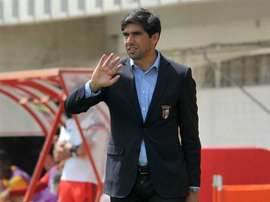 O técnico Abel poderá ter, em breve, um reforço para o centro da defesa bracarense. Twitter