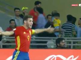 Abel Ruiz fait des siennes. Capture/Eurosport
