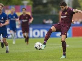 Abel Ruiz fidèle au club. Twitter/FCBMasia