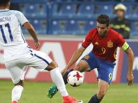 España prepara la clasificación para la próxima Eurocopa Sub 17. EFE/Archivo