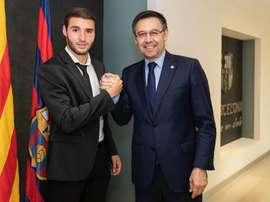 La décision d'Abel Ruiz. FCBarcelone