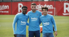 La hoja de ruta de los ocho debutantes de Valverde. FCBarcelona