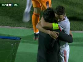 España se gusta y se mete en semifinales. Captura/RTVE