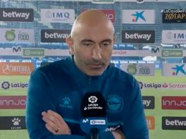 Abelardo analizó la derrota contra el Madrid. Captura/#Vamos