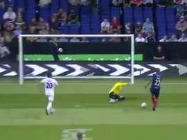 Abidal marca un gol en el Mundial de Leyendas. Twitter