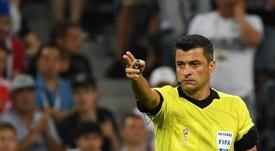 Sandro Meira Ricci admitiu o erro no Mundial. Twitter @desimpididos