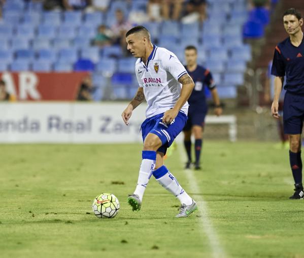 Abraham Minero ha ampliado su contrato un año más con el Zaragoza. Twitter.
